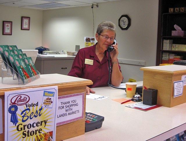 customer service attendant