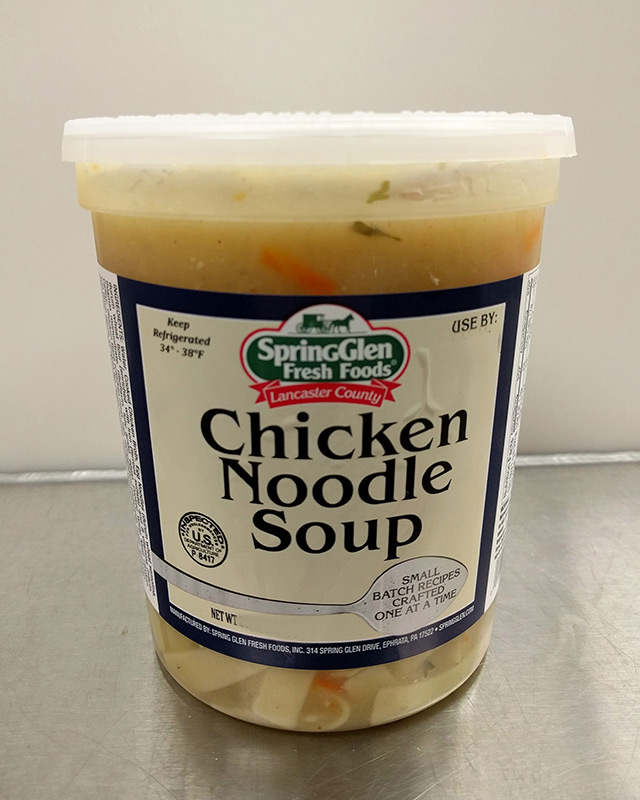 Chicken Noodle Soup - Spring Glen