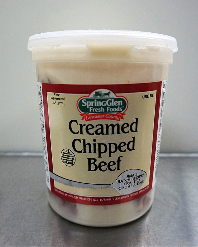 Creamed Chipped Beef - Spring Glen
