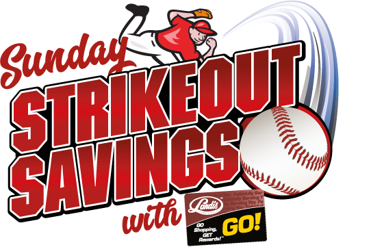Sunday Strikeout Savings