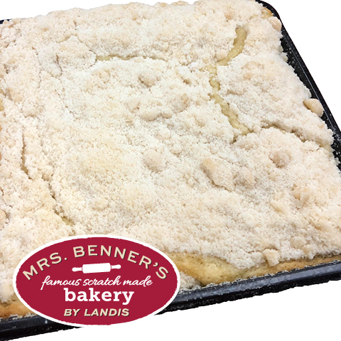 Mrs. Benner's Butter Crumb Cake