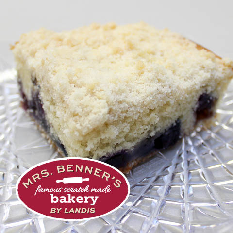 Mrs. Benner's Blueberry Crumb Cake