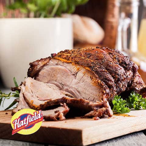 Fresh, Bone-In Hatfield Whole Pork Shoulder Picnic Roast