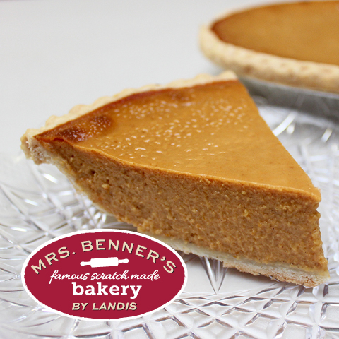 Mrs. Benner's Snack Pumpkin Pie