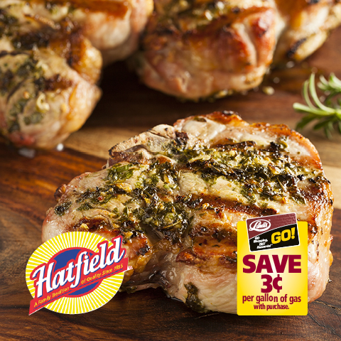 Hatfield Boneless Pork Sirloin Chops or Country Style Ribs