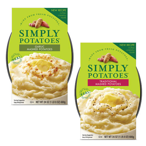 Simply Mashed Potatoes